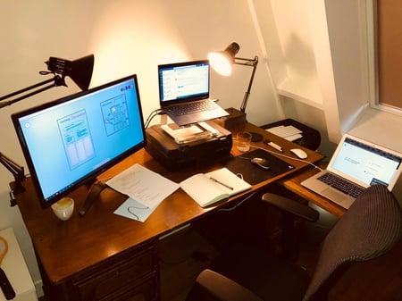 Achter de schermen bij Stein voor de online sessie van House of Performance