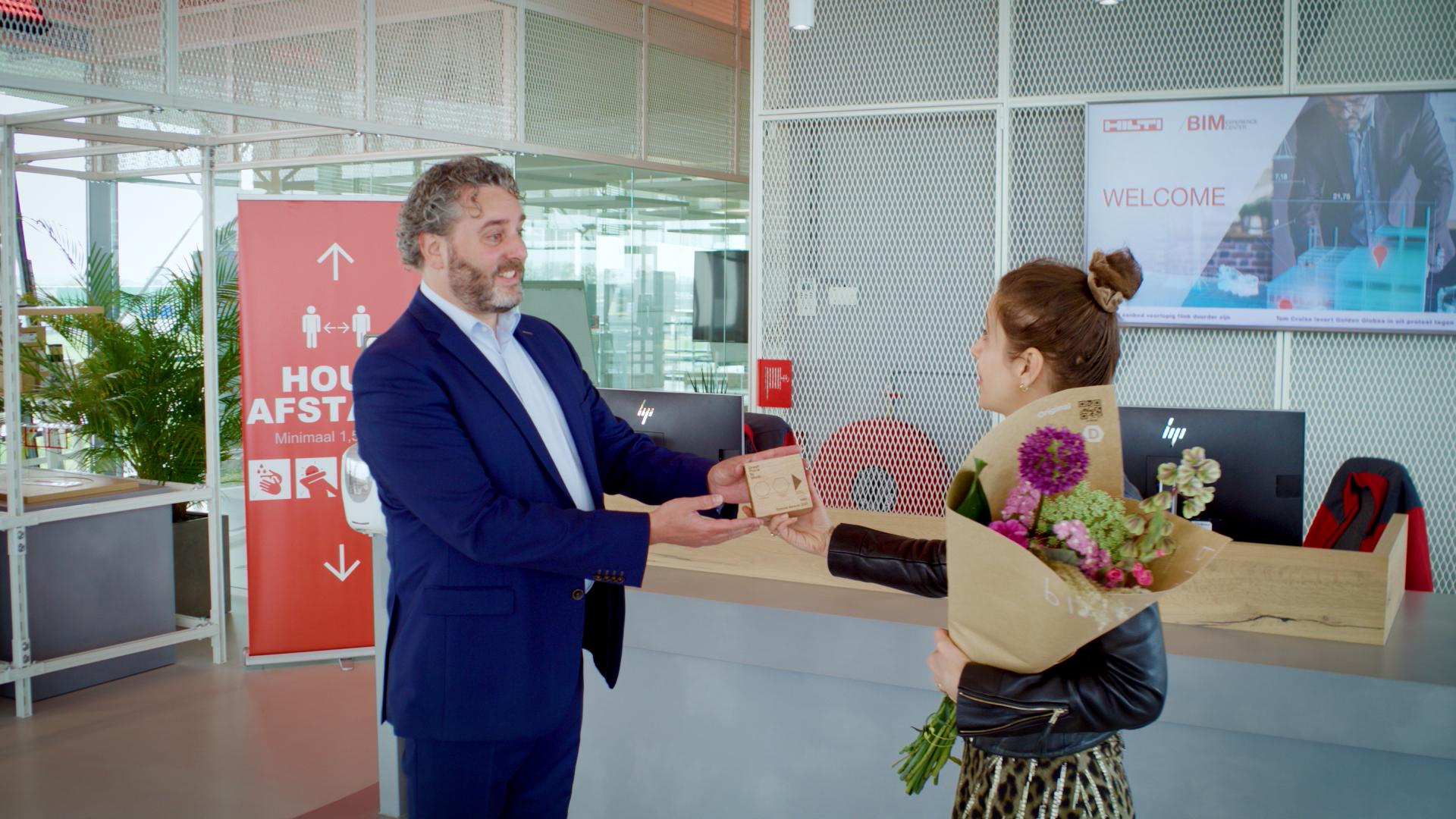 'Verzin het als directie niet allemaal zelf' – Special Award winnaar Effectief Leiderschap Hilti Joris Gompen